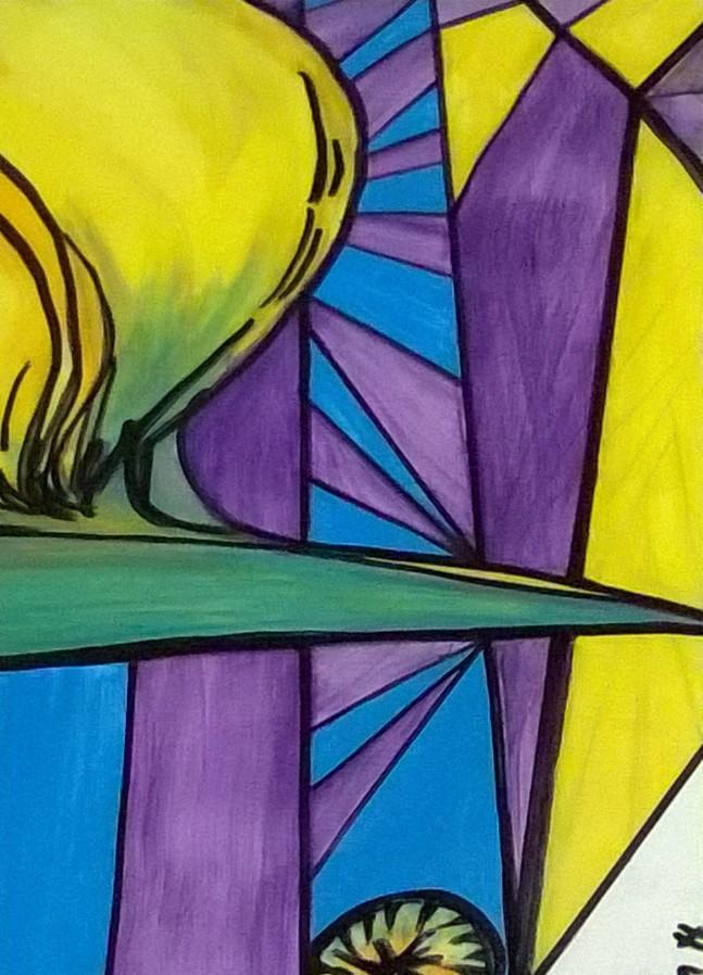 Hand painted Window Film Series